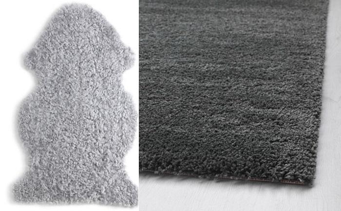dormitorio de otoño con ikea alfombras
