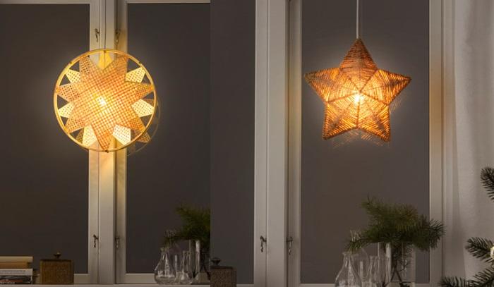 iluminacion para decorar de navidad con ikea tu casa