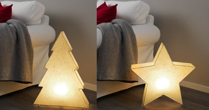 lamparas para decorar de navidad con ikea tu casa
