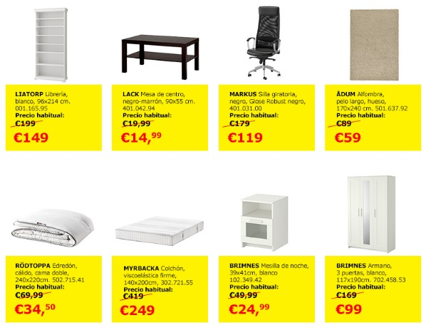 ofertas black friday ikea 2016