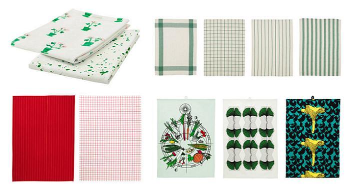 textiles de cocina ikea paños