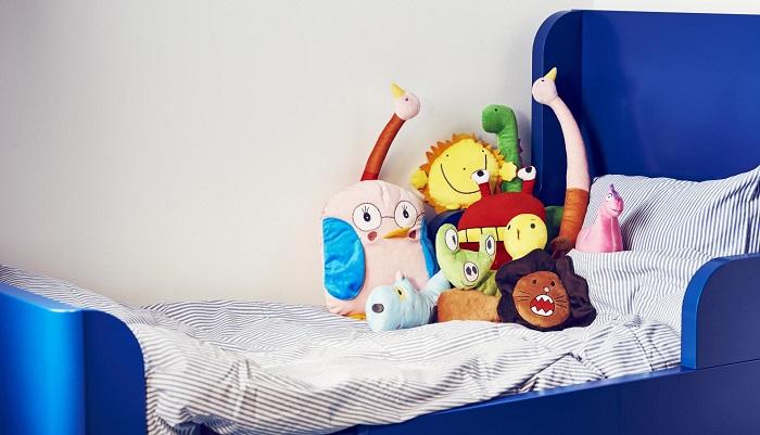Peluches diseñados por niños