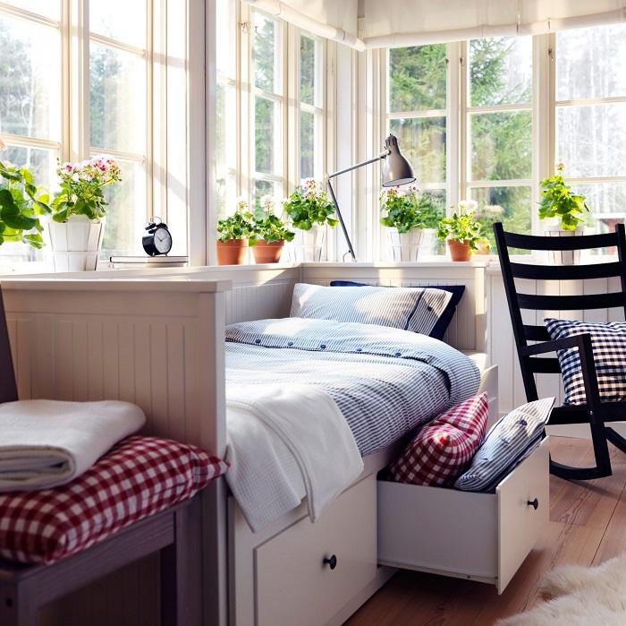 Habitación de invitados Ikea
