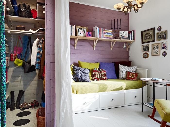 habitación juvenil con diván