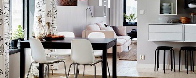 Ideas para decorar tu comedor con Ikea Modernas y baratas