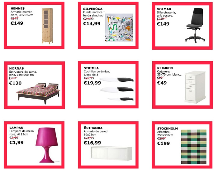 ikea mid season sales