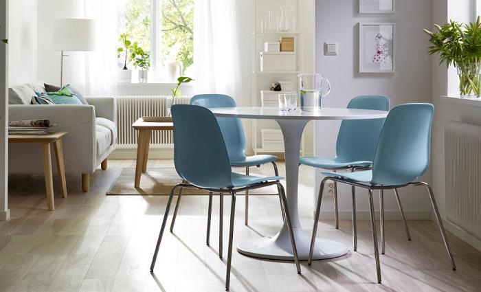 Nuevas sillas comedor ikea 2016 mueblesueco for Sillas para salas pequenas