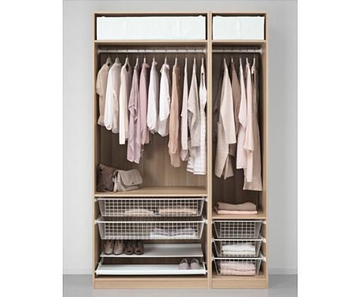 Diferentes opciones de armarios modulares ikea para tu ropa for Armarios roperos baratos ikea