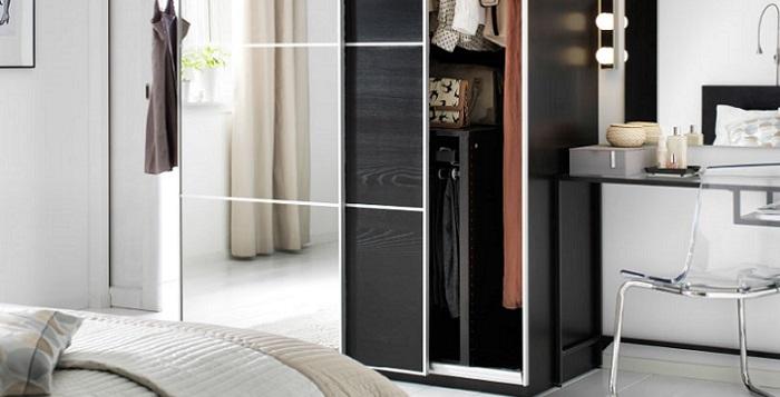 Diferentes opciones de armarios modulares Ikea para tu ropa