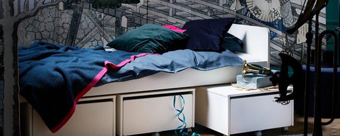 La nueva cama nido SLÄKT de Ikea del catálogo 2018