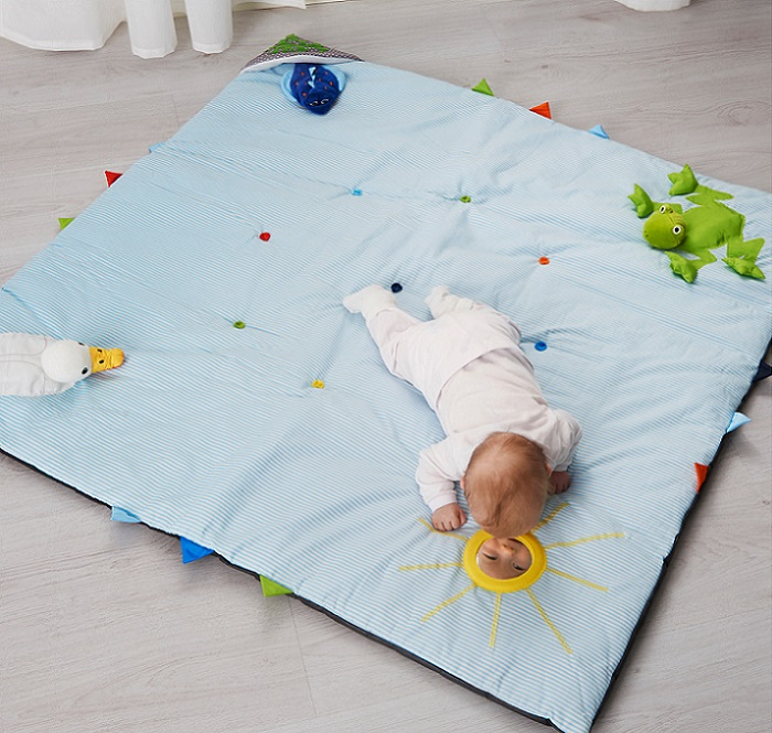 LEKA, la manta de juegos Ikea para bebés