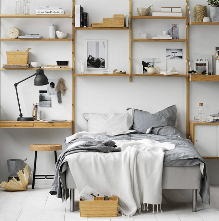 Baldas de pared ikea beautiful foto do pics photos estanterias baldas pared modernas estanteria - Ikea estanterias metalicas cocina ...