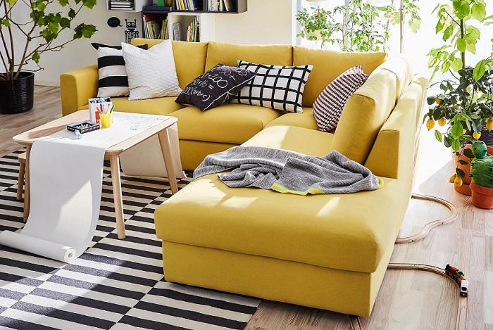 Sofa Chaise Longue Ikea.Vimle El Nuevo Sofa Personalizable De Ikea Con Chaise