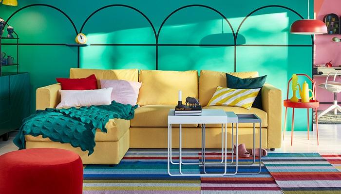 Nuevas mesas de centro nido Ikea para tu salón, muy prácticas