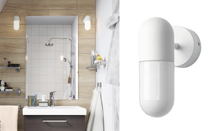 apliques de baño ikea led