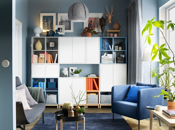 Se A Salón Que De Ikea EketUn Almacenaje Sistema Adapta Tu gfYb6y7v