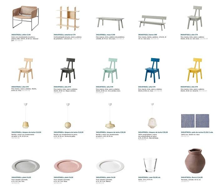 colección Ikea industriell