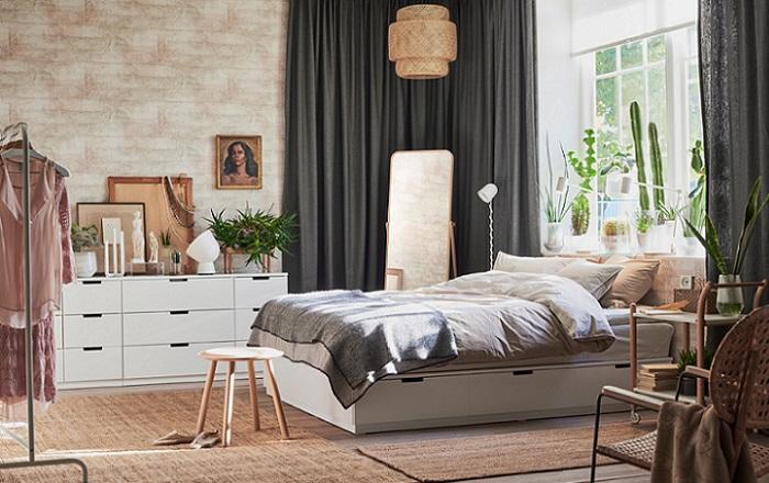 cortinas opacas de Ikea