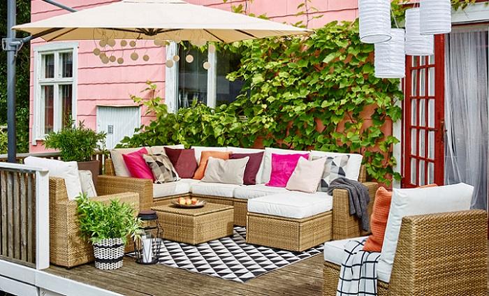 Inspiraci n para decorar tu terraza o balc n con ikea for Ikea terraza y jardin