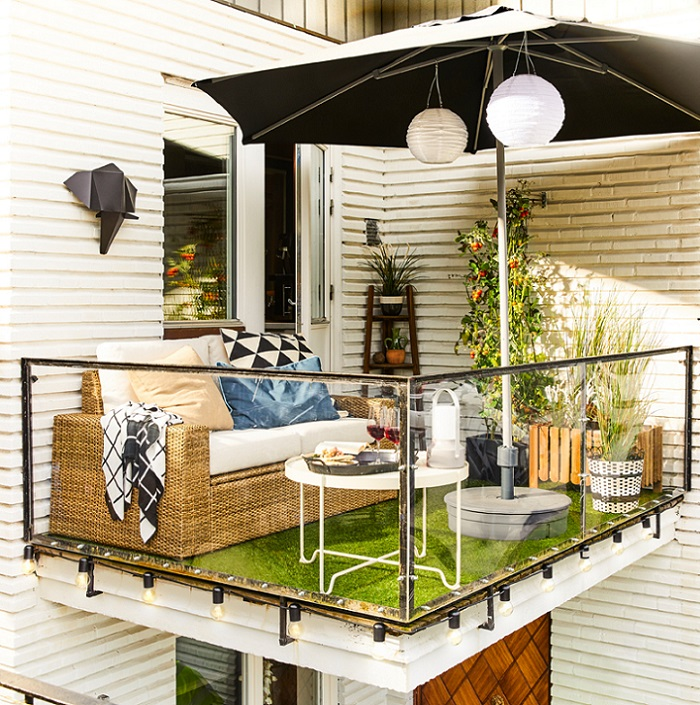 ideas balcon ikea