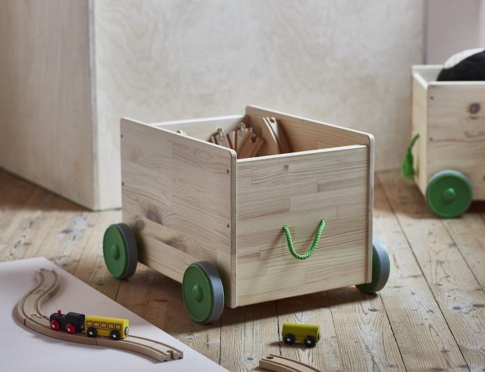 Decorar con las cajas de madera ikea es tendencia for Cajas de madera ikea