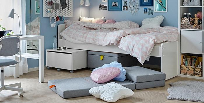 colchón plegable de Ikea