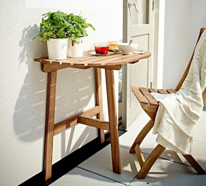 5 muebles para balc n ikea que querr s este verano for Mesa desayuno