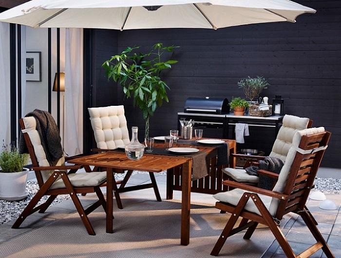 mesas de terraza ikea APPLARO