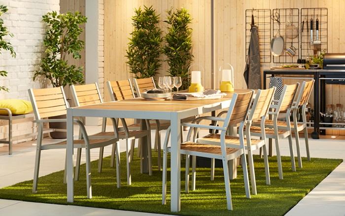 mesas de terraza ikea SJALLAND