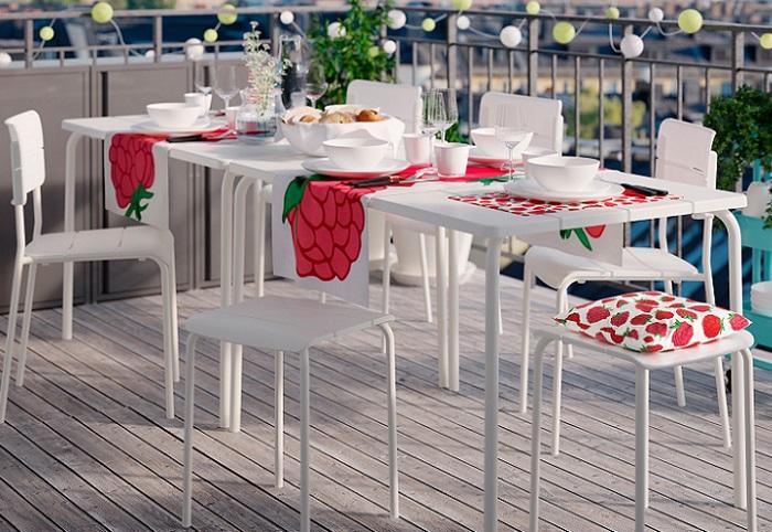 mesas de terraza ikea VÄDDÖ