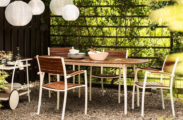 mesas de terraza ikea VINDALSÖ