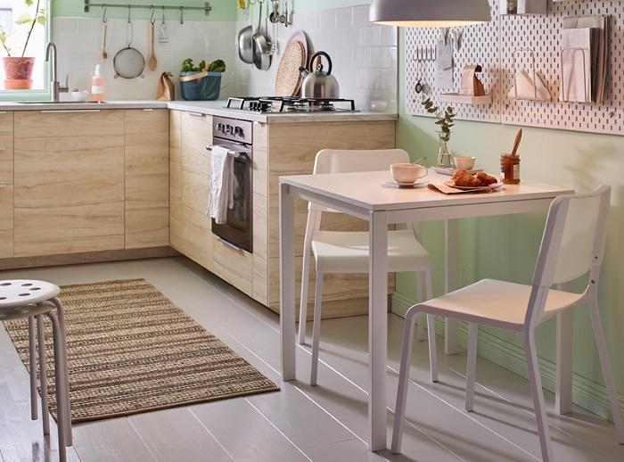7 mesas peque as de cocina muy pr cticas - Mesa de cocina pequena ...