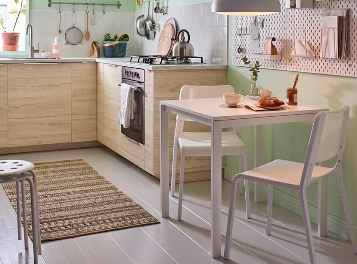 mesas pequeñas de cocina