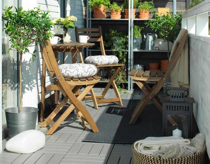 5 muebles para balc n ikea que querr s este verano for Muebles de balcon