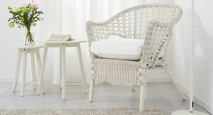 Los mejores sillones de mimbre ikea para tu sal n o terraza for Sillones jardin ikea