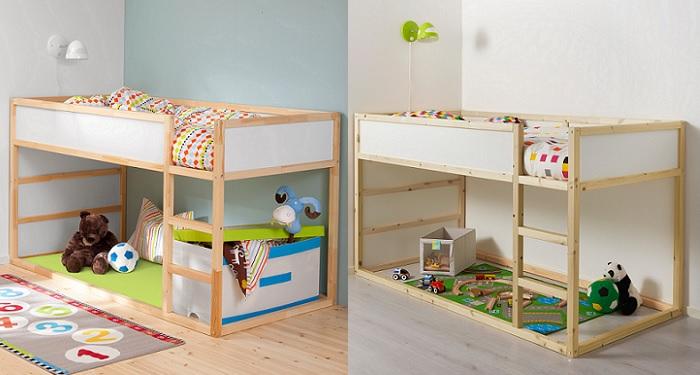 La cama kura ikea para ni os alta e ideal para jugar y dormir - Cama ikea infantil ...