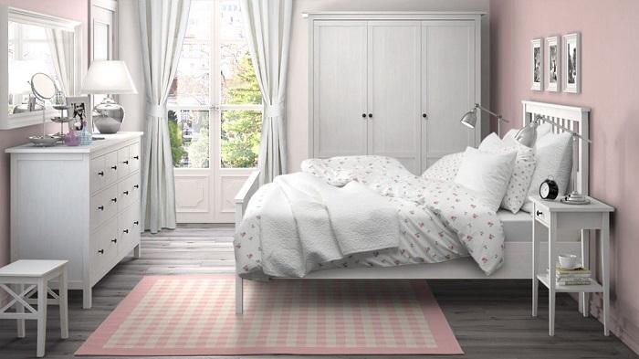 dormitorio ikea hemnes clásico