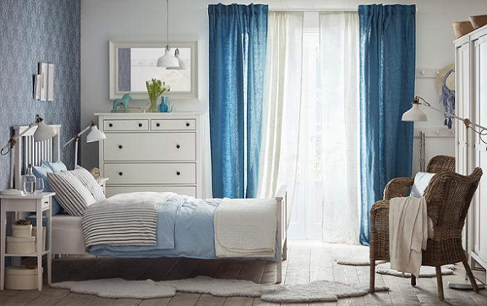 dormitorio rústico ikea