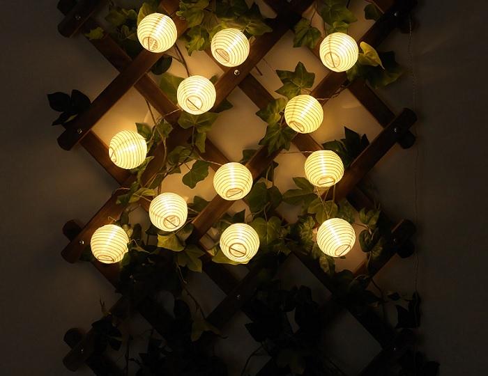ideas guirnaldas de luz ikea