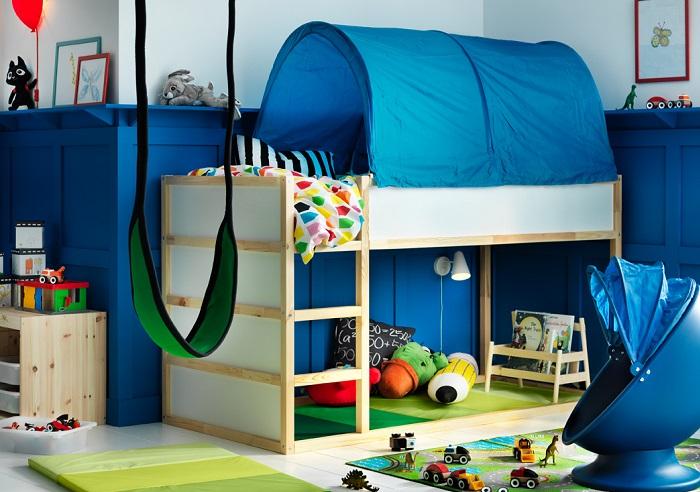 La cama kura ikea para ni os alta e ideal para jugar y dormir - Ikea cama alta ...