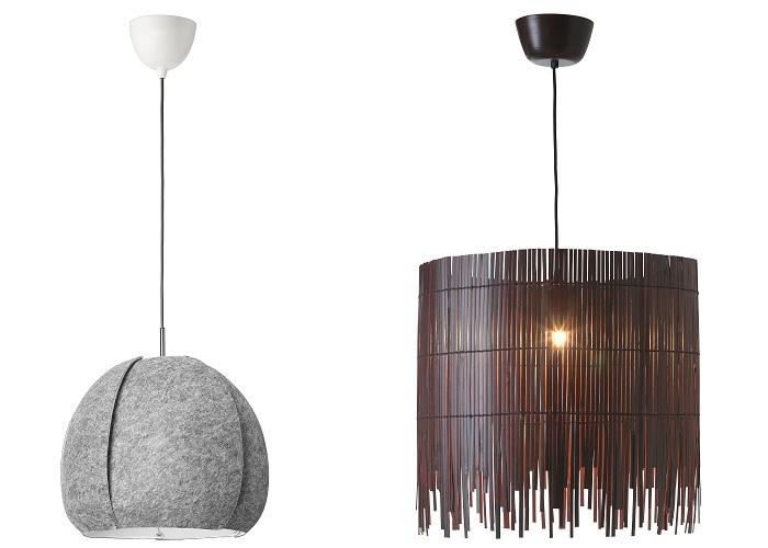 lámparas colgantes IKEA