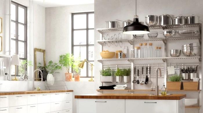 Soluci n de almacenaje vertical de ikea para cocinas for Ikea gabinetes de cocina