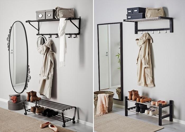 Los Percheros De Pared Ikea Mas Practicos Para Tu Recibidor