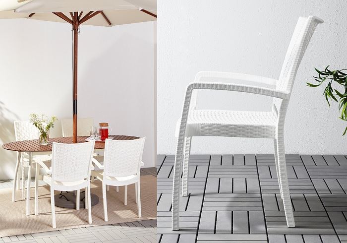 sillas de terraza ikea INNAMO