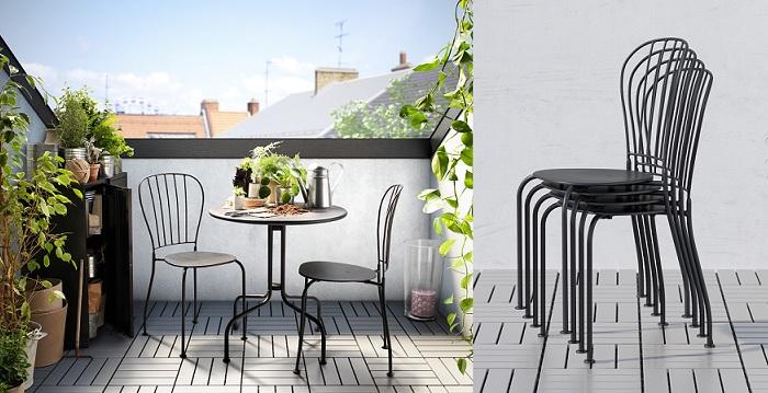 sillas de terraza ikea LÄCKÖ