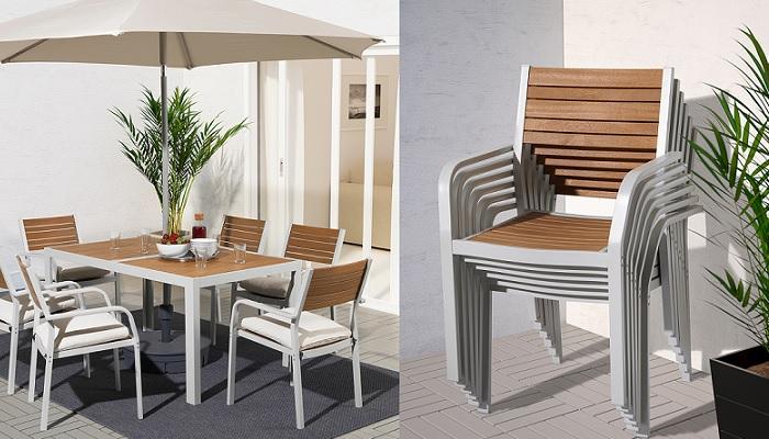 Las mejores sillas de terraza ikea para un verano perfecto for Conjunto de terraza ikea