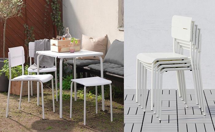 Las mejores sillas de terraza ikea para un verano perfecto - Sillas con reposabrazos ikea ...