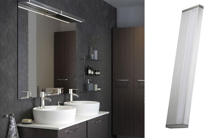 Elige los apliques de ba o ikea para iluminar tu lavabo for Iluminacion bano ikea