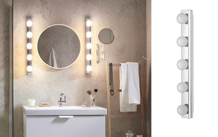 apliques de baño ikea LEDSJÖ