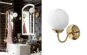 Elige los apliques de baño Ikea para iluminar tu lavabo